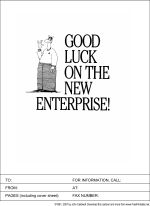Good Luck on the New Enterprise
