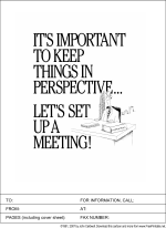 Let's Set Up A Meeting